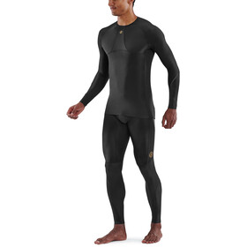 Skins Series-5 LS Top Men, negro